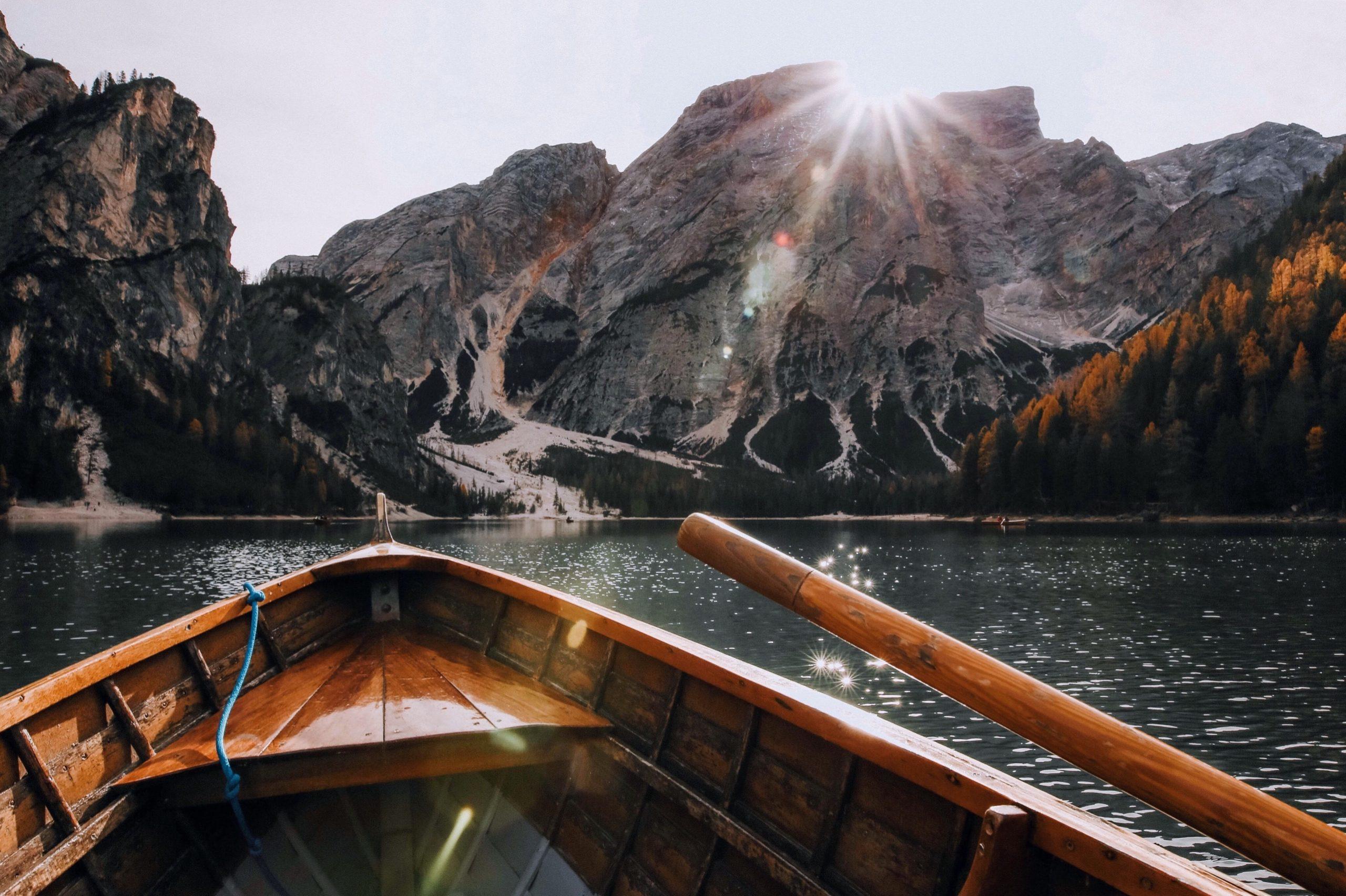 Gründungswerft Bild, Boot im See